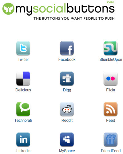 My Social Buttons