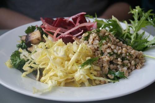 salad plate at Konstam