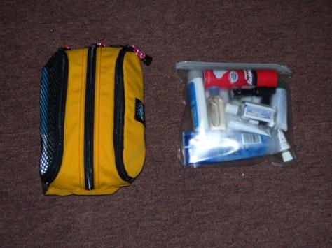 Toiletry kits