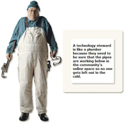 Beth Kanter's Tech Steward image from Flickr Cc