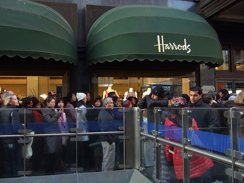 Harrods sale launch December 2008