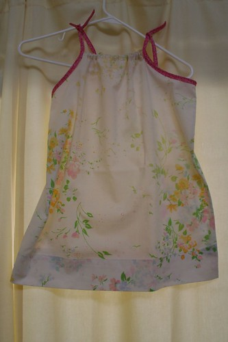 Pillowcase dress #1.