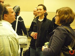 After talk at the Online Community Meetup