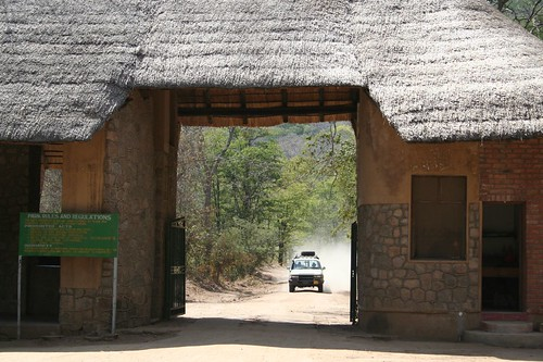 Arrival at Luwonde