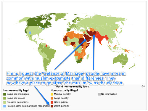 World homosexuality laws