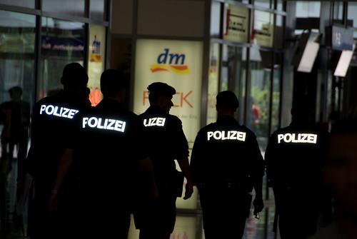 Police at Euro 2008
