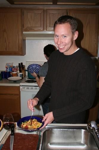 Last 2008 Community Dinner