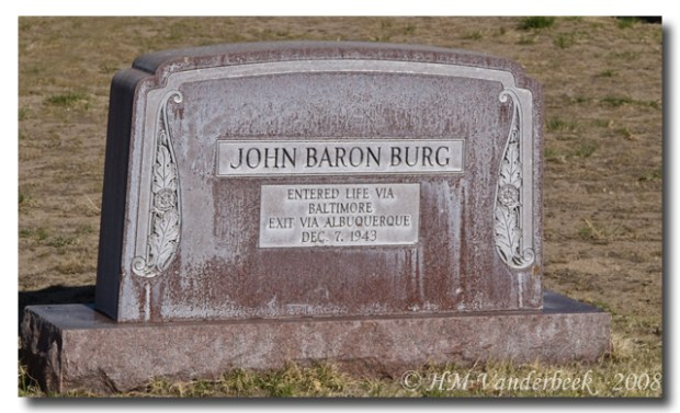 Interesting Headstone