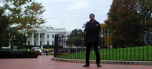 Bill Cammack... Cold Lampin' at The White House