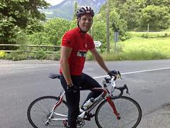 Martin has a new bike