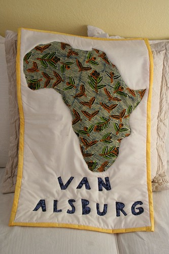 Voila -- African wall hanging