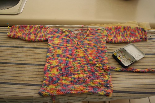 Baby sweater for Second Birthday