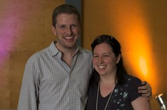 Matt Mullenweg & myself (yes, Im okay with the fact that Im geeky enough to want a photo with the creator of WordPress)