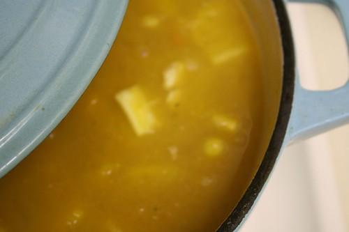 Aztec squash soup