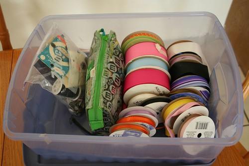 Ribbon box, after.