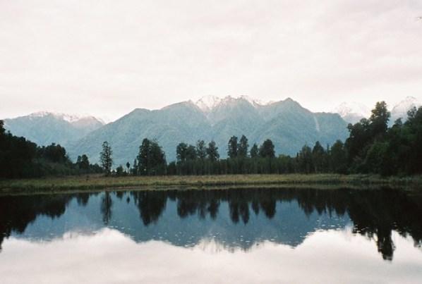 Lake Matheson by anthonylibrarian