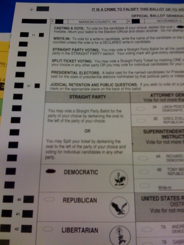 Voted early