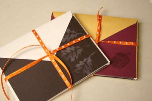 Fall stationery gifts