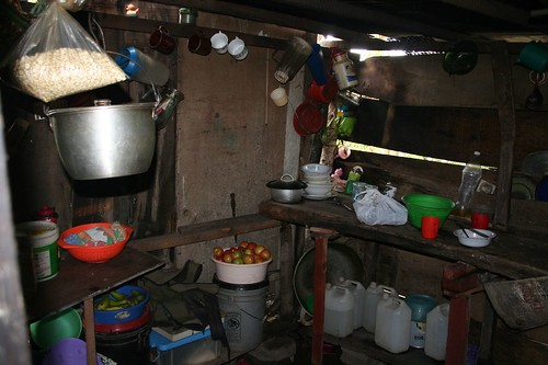 Typical Nicaraguan kitchen
