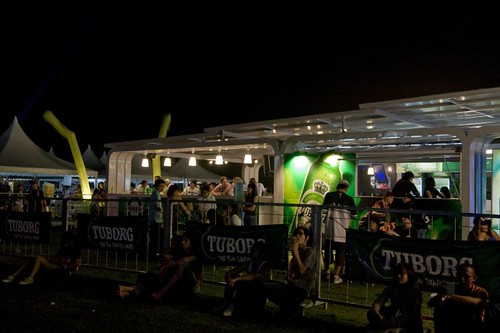 Tuborg square at Sunburst KL 2008