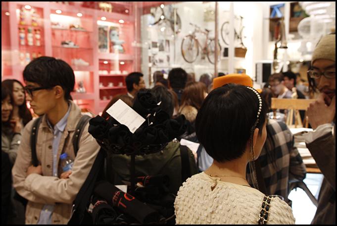 2010.04.27 Pass The Baton Omotesando Store Opening Party 11