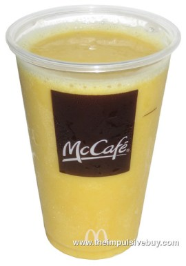 McDonald's Mango Pineapple Real Fruit Smoothie