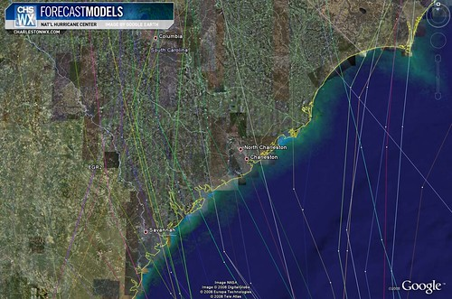 Hanna Model Plots - Close In on Charleston