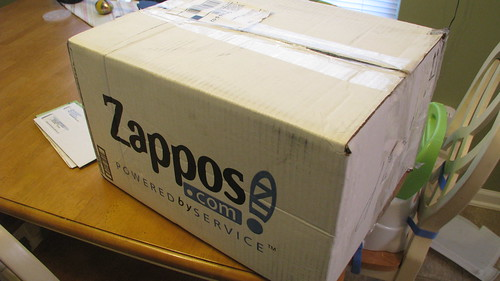 A gift from Zappos