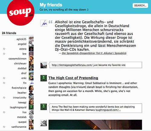 Soup.io is good for the soul