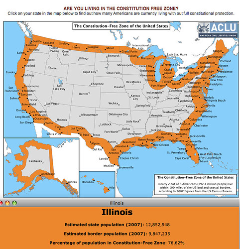 ACLU Constitution Free Zone