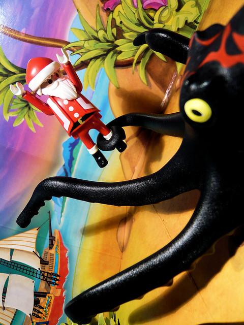 Santa Vs. The Kraken // Santa contre le Kraken