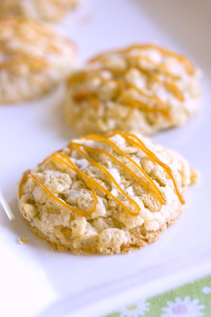Pecan Caramel Crispies
