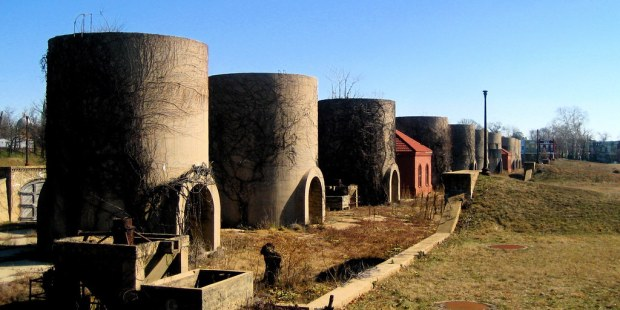 McMillan Sand Filtration site.  Image from M.V. Jantzen on flickr.
