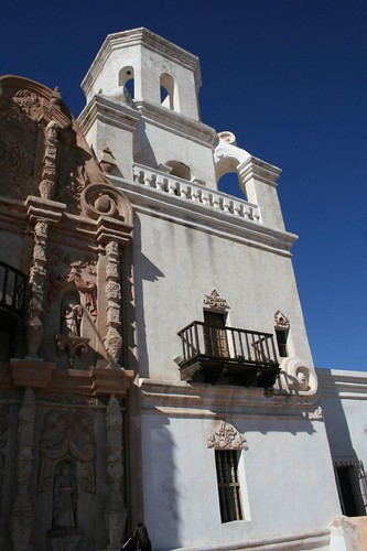 San Xavier, getting a face lift