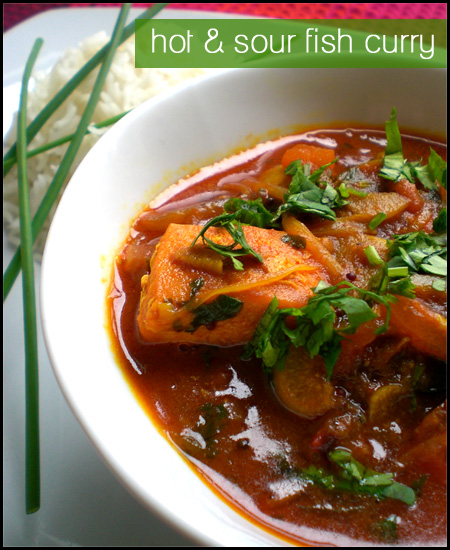 Hot & Sour Fish Curry