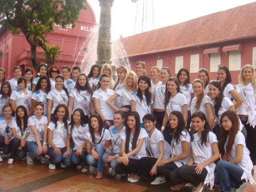 miss tourism international 2008 at Stadhuys