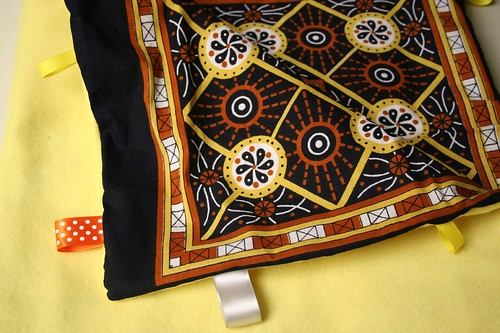 Tag Blanket, inside African flare