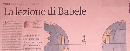 La lezione di Babele