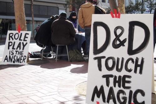 D&D touch the magic