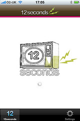 12seconds on the iphone