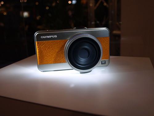 Olympus's Micro 4/3rd's camera