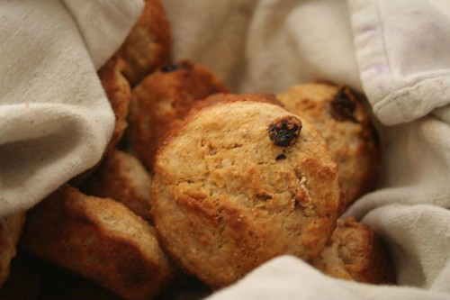 Irish soda bread muffins, bon appetit, june 2008