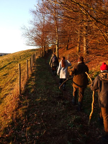 Ascending from Gormire to Sutton Bank