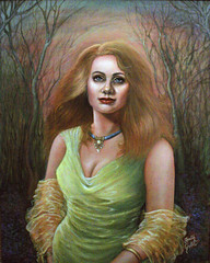The Green Dress (painting) and Green (poem)