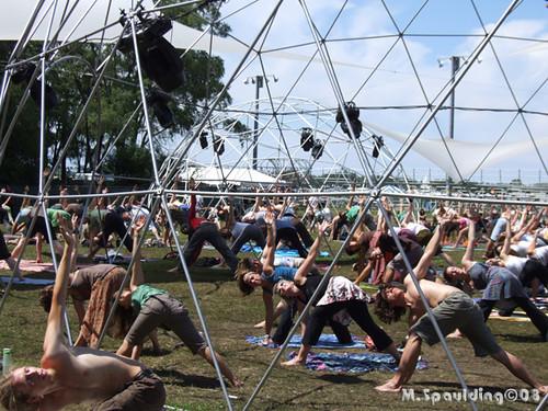 Yoga @ Rothbury 2008