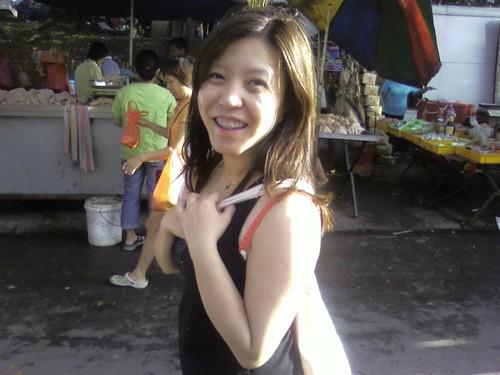 Sara at the Market