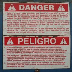 Racist Warning Sign
