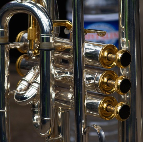 Tiverton Brass Band - Trumpet - Close-up 2