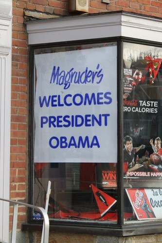 Magruder's Presidential Welcoming Committee