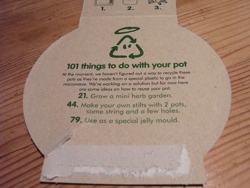 Innocent Pots Re-use ideas